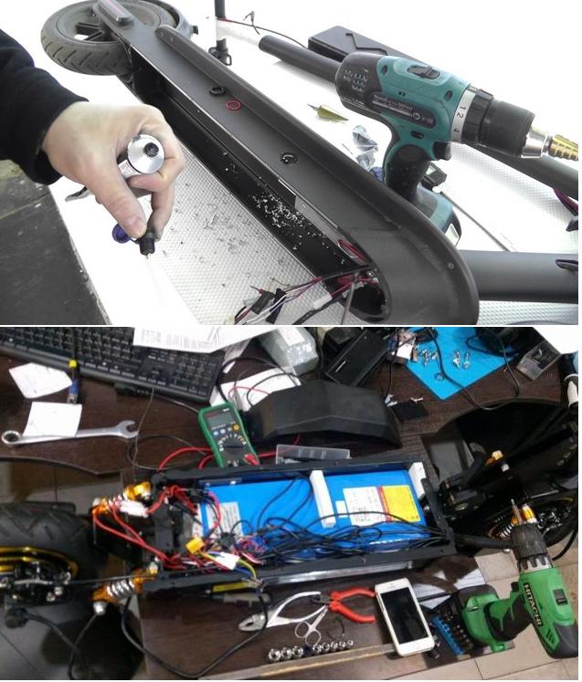 сервис по ремонту электросамокатов