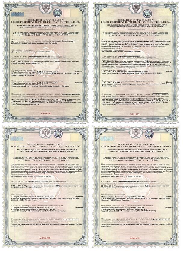 сертификаты на самокаты